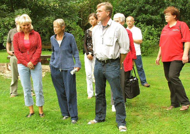 Parkbesuch Dagmar Enkelmann und Ralph Christoffers 2009