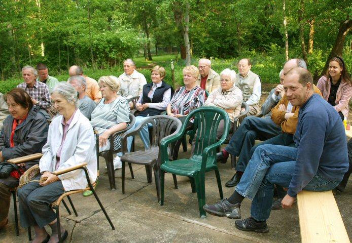 Zuschauer Gedenkveranstaltung Koch